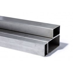 TUBE  RECTANGULAIRE 30X15 INOX