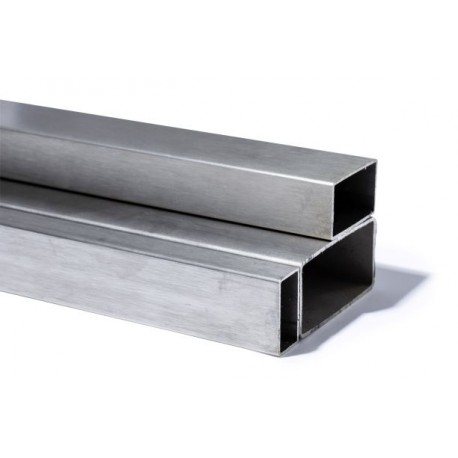 TUBE  RECTANGULAIRE 100X50 INOX
