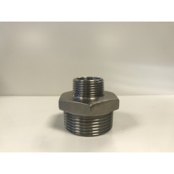 REDUCTION MALE/MALE 102 X 114 / 80 X 90 316L