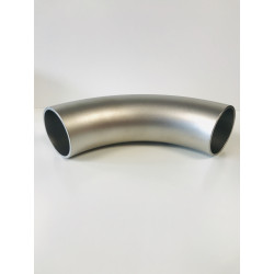 COUDE ROULE SOUDE 42,4 X 1,6 304L   GRAND RAYON